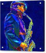 Street Music Acrylic Print