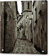 Street Of Erice Acrylic Print