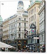 Street Of Vienna Acrylic Print
