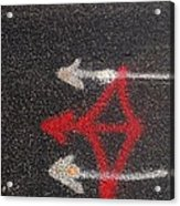 Street Painting Number 3 Acrylic Print