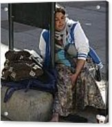 Street People - A Touch Of Humanity 10 Acrylic Print