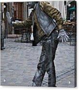 Street Performer In Munich Acrylic Print