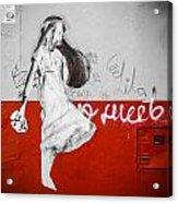 Street Princess Acrylic Print