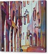 Street Scene Italy Acrylic Print