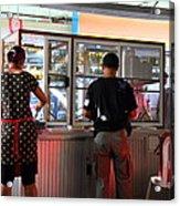 Street Scene - Phi Phi Island - 01135 Acrylic Print by DC Photographer