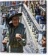 Street Scenes Interesting People Acrylic Print