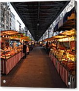 Street Scenes - Paris France - 011316 Acrylic Print by DC Photographer