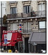 Street Scenes - Paris France - 011352 Acrylic Print by DC Photographer