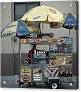 Street Vendor Acrylic Print