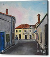 Street View From Kavran Acrylic Print