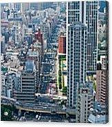 Street View Tokyo Acrylic Print