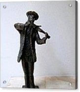 Street Violinist Acrylic Print