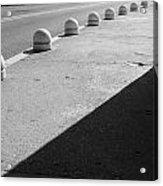 Streetbumps Acrylic Print