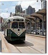 Streetcar Route Acrylic Print