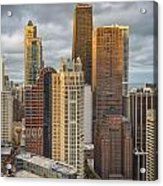 Streeterville From Above Acrylic Print