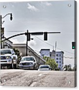 Streets Acrylic Print