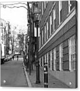 Streets Of Boston Acrylic Print