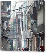 Streets Of China Acrylic Print