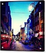Streets Of Dublin Acrylic Print