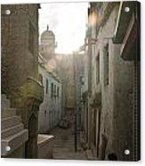 Streets Of Leh Acrylic Print