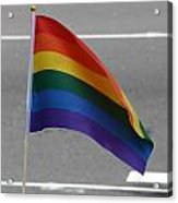 Streets Of Pride Acrylic Print