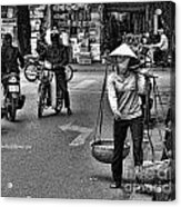 Streets Of Saigon Acrylic Print