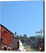 Streets Of San Miguel De Allende 2 Acrylic Print