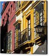 Streets Of Sevilla Acrylic Print