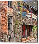 Streets Of St Augustine Florida Acrylic Print