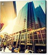 Streets Of Toronto Acrylic Print