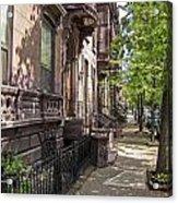 Streets Of Troy New York Acrylic Print