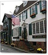 Streetscene Newport  -  Rhode Island Acrylic Print