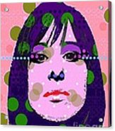 Streisand Acrylic Print by Ricky Sencion