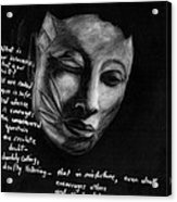 Strength Of Spirit Acrylic Print