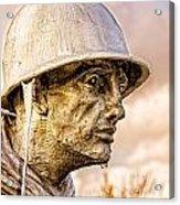 Stress Of Korean War Acrylic Print