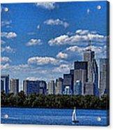 Striking Toronto Skyline Acrylic Print