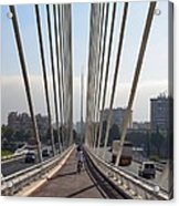 String Bridge In Seville Andalucia Acrylic Print