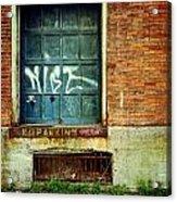 Strip District Doorway Number 1 Acrylic Print