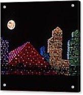 Strip Series - City Acrylic Print