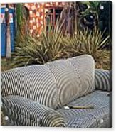 Striped Couch II Acrylic Print