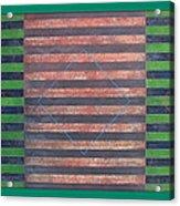 Striped Triptych No.5.03 Acrylic Print