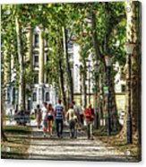 Strolling In Slovenia Acrylic Print