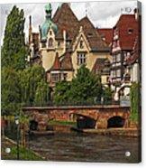 Strolling Through Strasbourg Acrylic Print