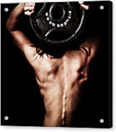 Strong Back And Arms Acrylic Print by Jt PhotoDesign