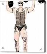Strongest Man Native  Acrylic Print