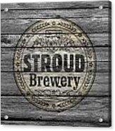 Stroud Brewing Acrylic Print