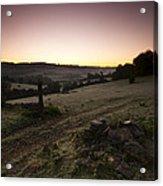 Stroud Sunrise Acrylic Print