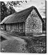 Stryd Lydan Barn Mono Acrylic Print