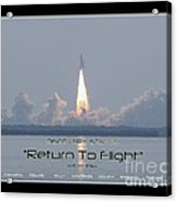Sts-114 Discovery Launch Acrylic Print