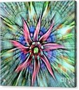 Sttained Glass Window Acrylic Print